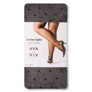 AVA & VIV Plus Fashion Tights Back Seams